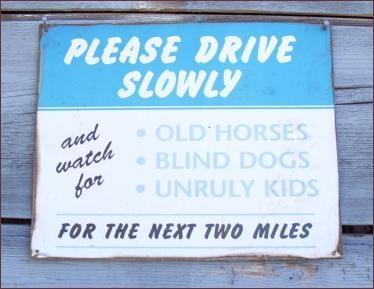 Funny redneck signs